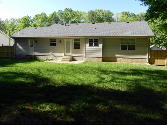Updated single level home in Chattanooga